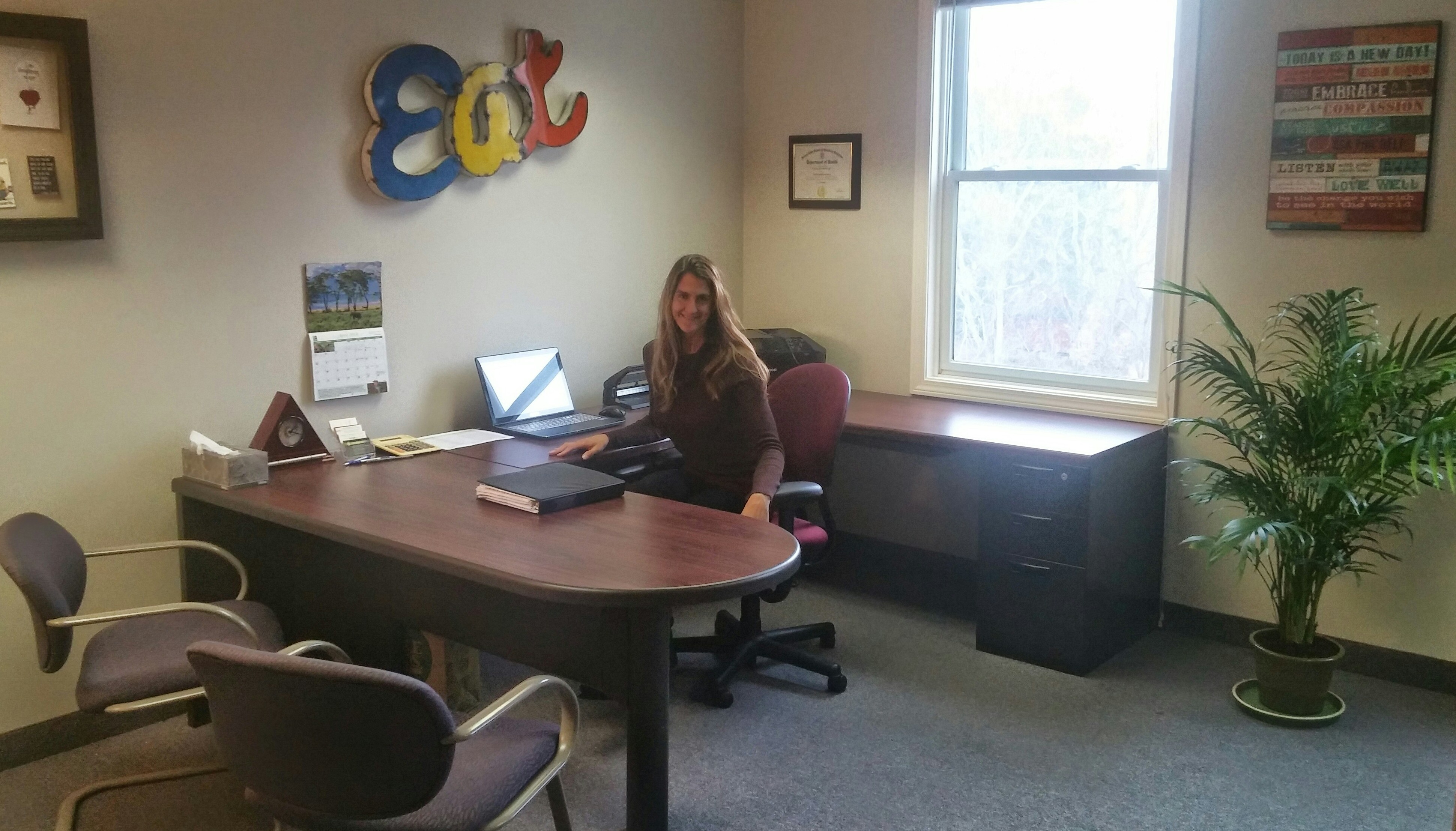 New Office! | Be the Change Nutrition