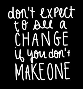don't expect to see a change